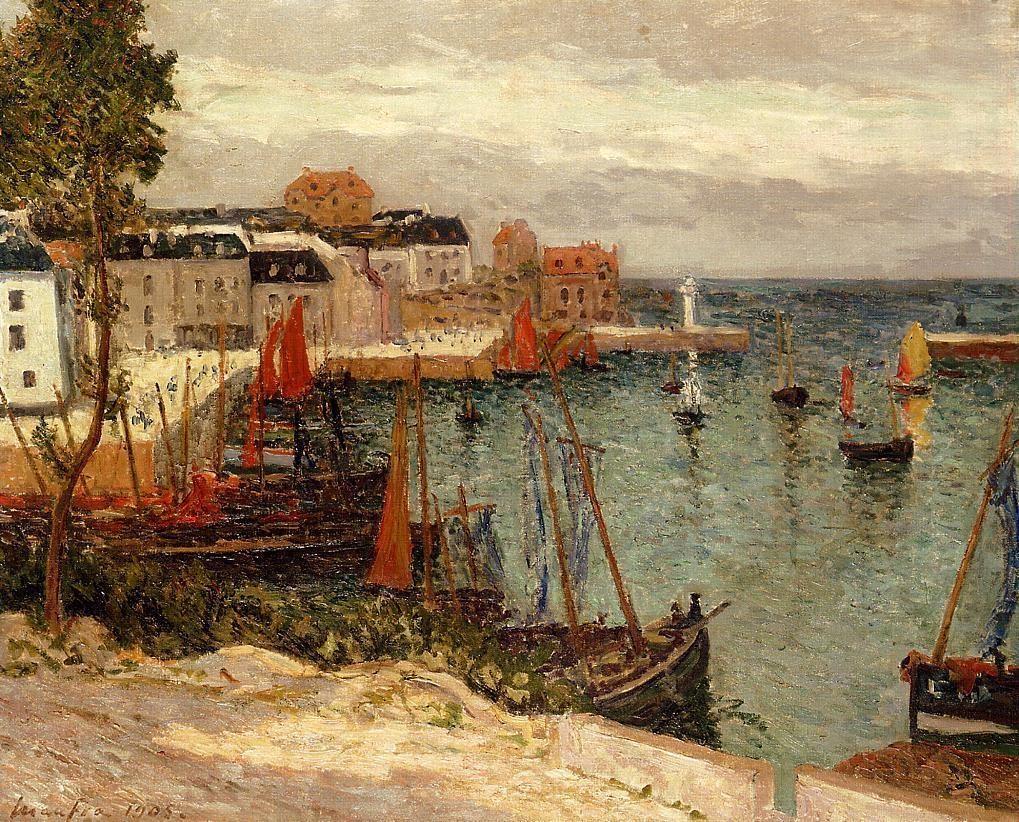 The Port of Sauzon, Belle Isle en Mer