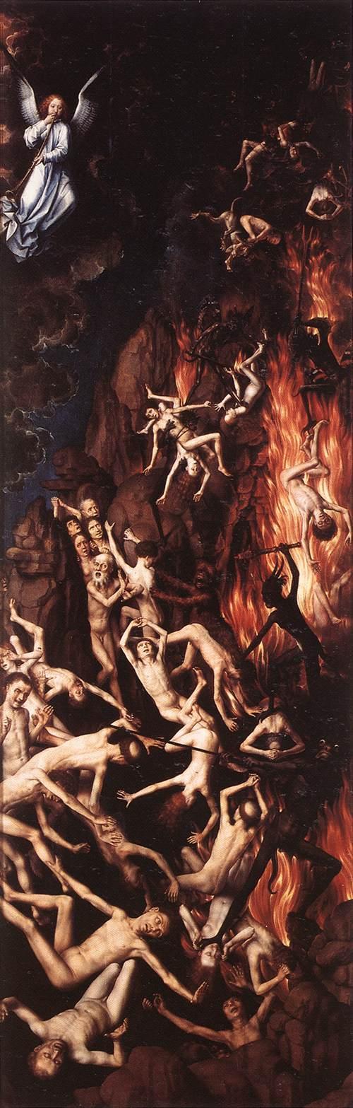 Last Judgment Triptych (detail) 3