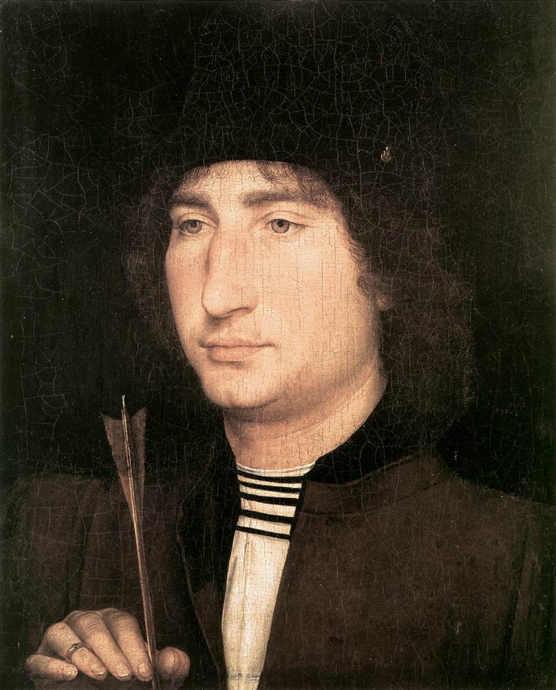 Portrait of a Man with an Arrow