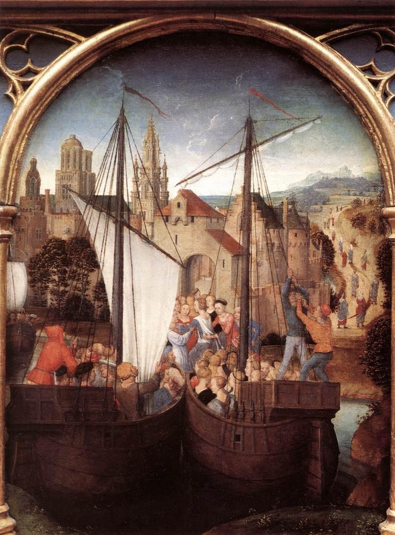 St Ursula Shrine (scene 2)