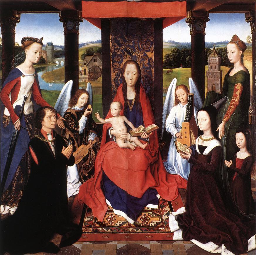 The Donne Triptych (centre panel)