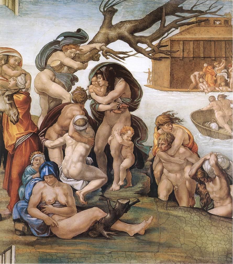 Genesis - 8 The Deluge (Detail) 1