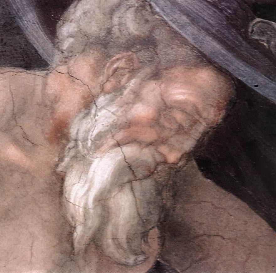 Genesis - 9 Drunkenness of Noah (Detail) 3
