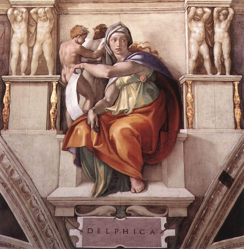 Sibyls - The Delphic Sibyl