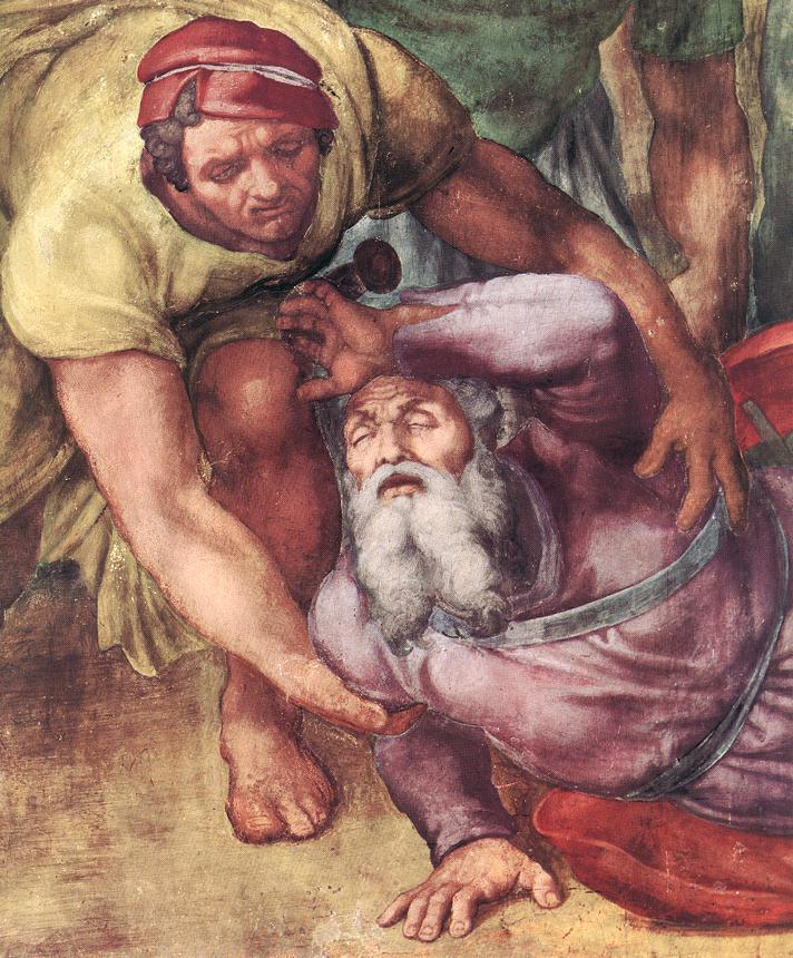The Conversion of Saul (detail) 4