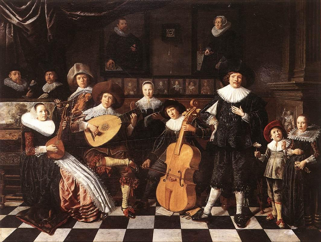 Family Making Music