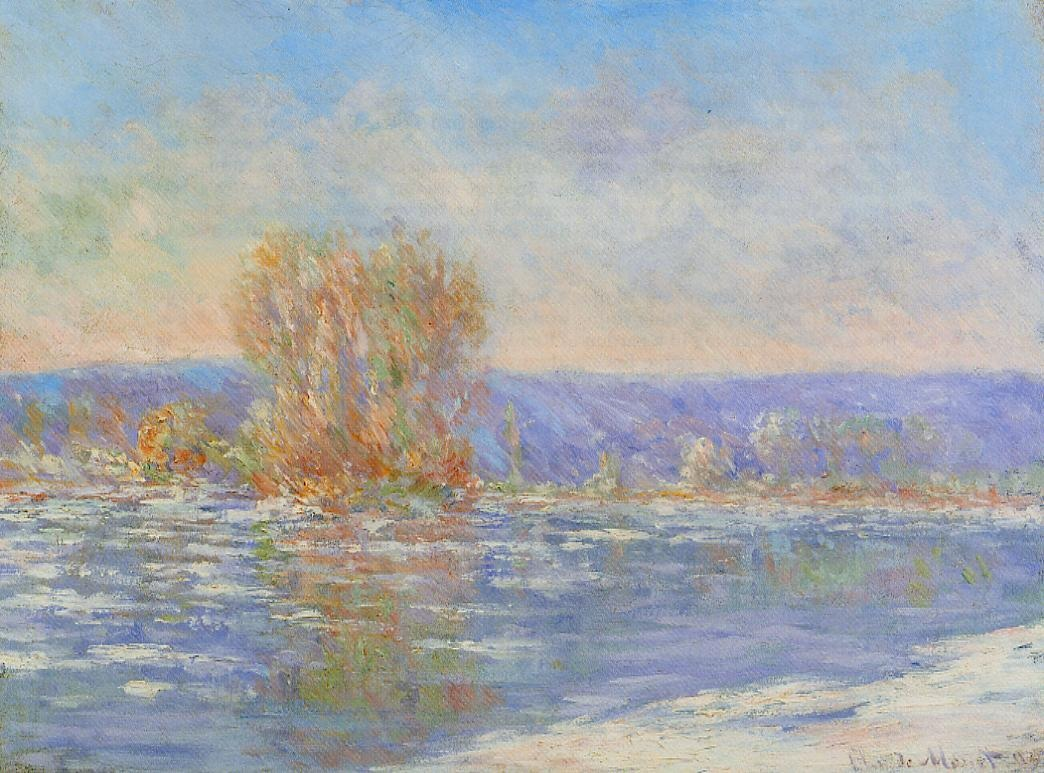 Floating Ice near Bennecourt