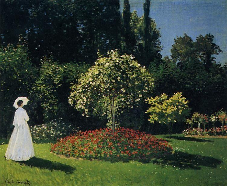 Jeanne-Marguerite Lecadre in the Garden
