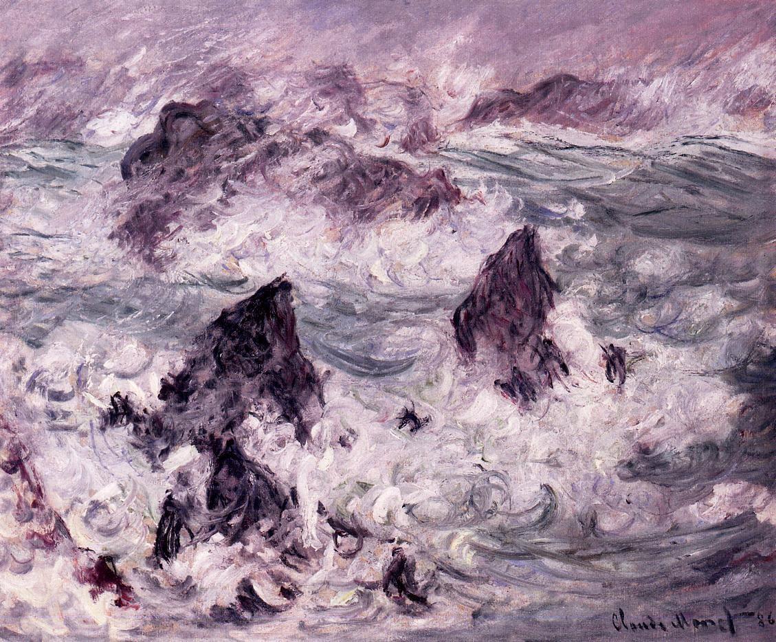 Storm at Belle-Ile 2