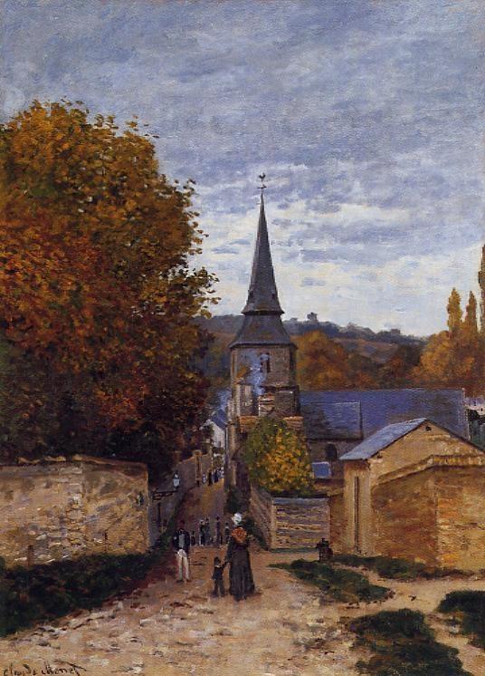 Street in Sainte-Adresse