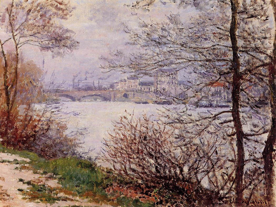 The Banks of the Seine, Ile de la Grande-Jatte