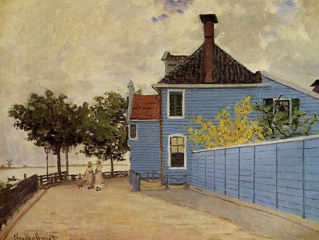 The Blue House at Zaandam