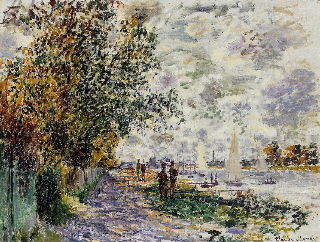 The Riverbank at Petit-Gennevilliers