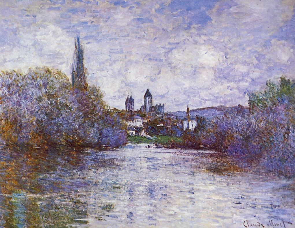 The Small Arm of the Seine at Vetheuil