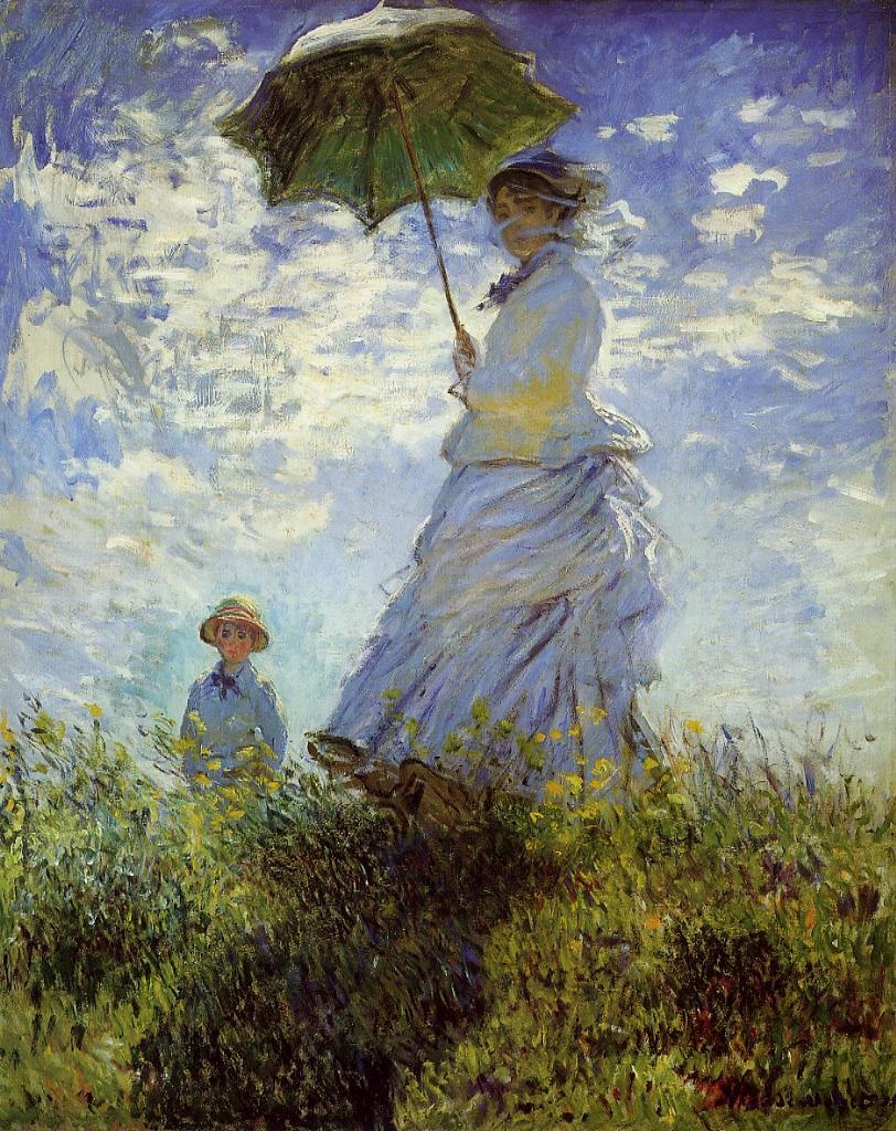 The Walk - Woman with a Parasol