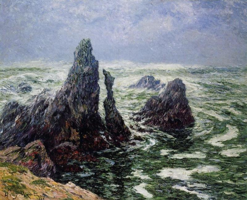 The Needles of Port-Cotom, Belle Ile