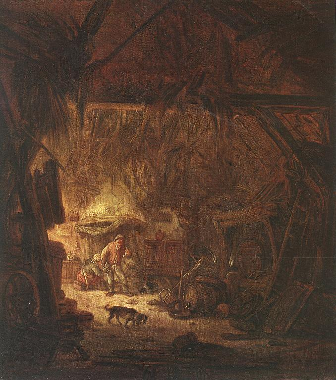 Interior of a Peasant House