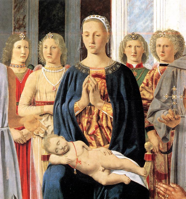 Montefeltro Altarpiece (detail)