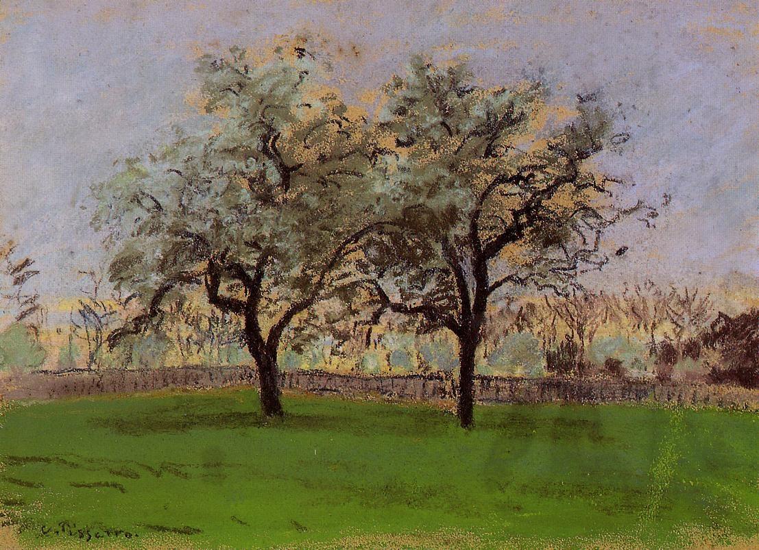 Apple Trees at Pontoise