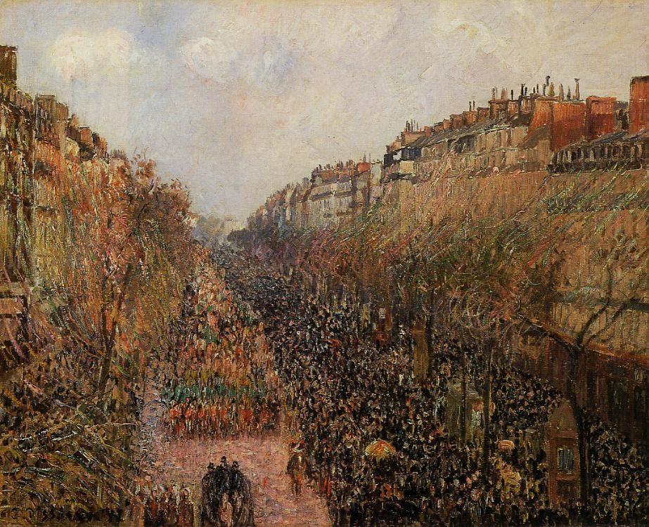 Boulevard Montmartre - Mardi-Gras