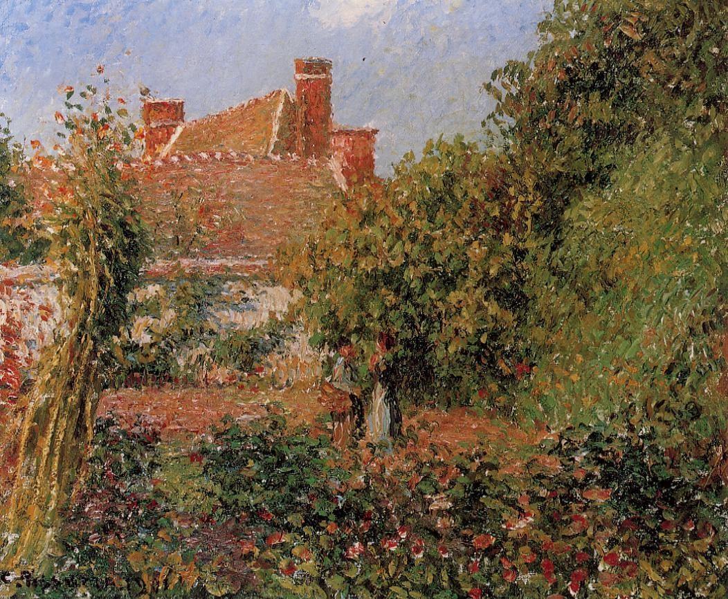 Kitchen Garden in Eragny, Afternoon
