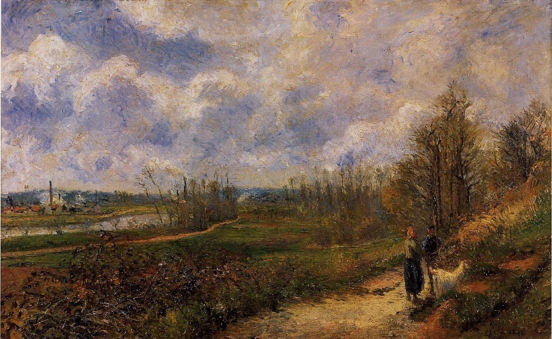 Pathway at Chou, Pontoise