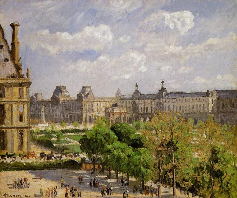 Place du Carrousel, the Tuileries Gardens