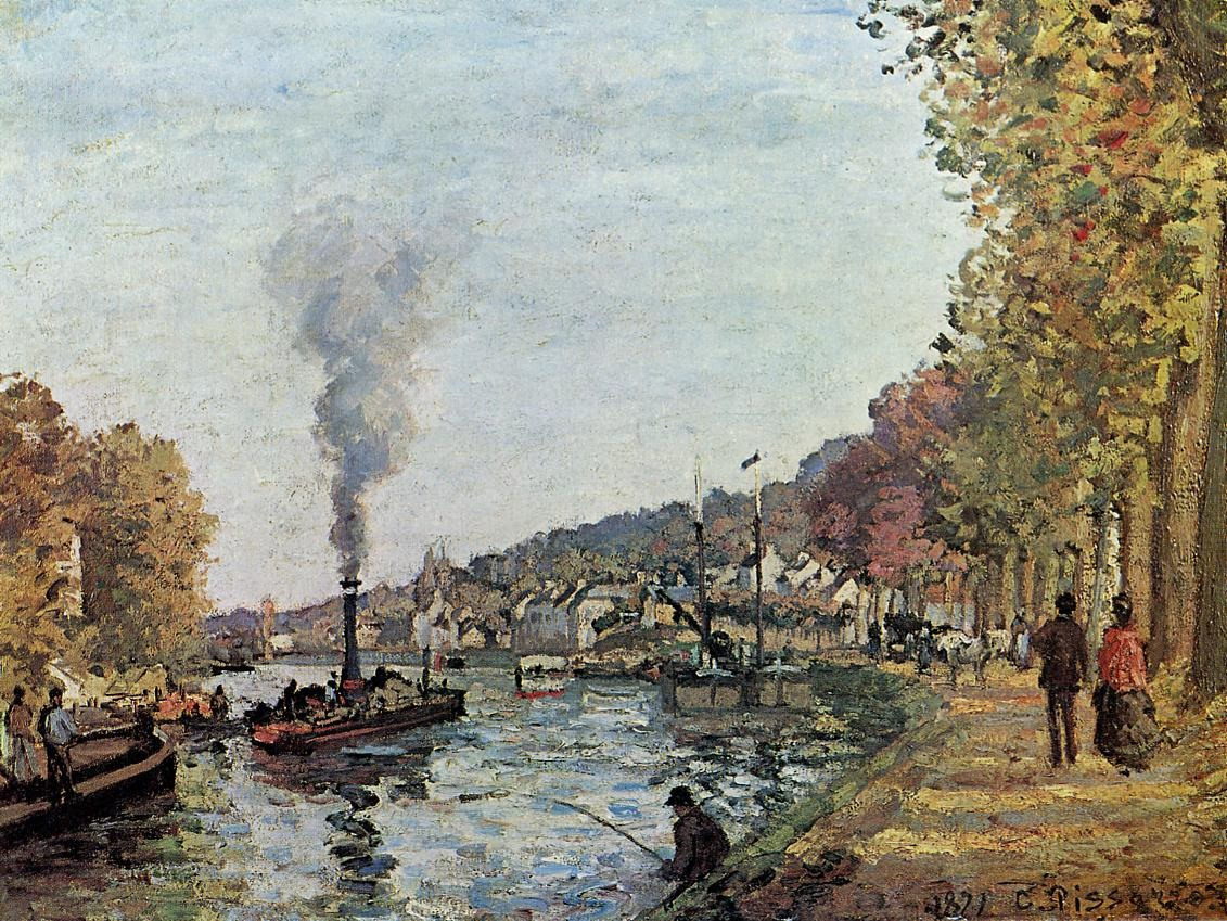 The Seine at Marly 1