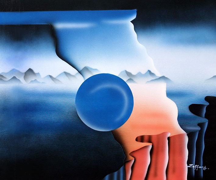 Classic Blue Ball