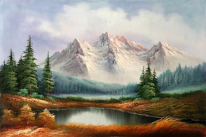 - Classic Mountain Landscape