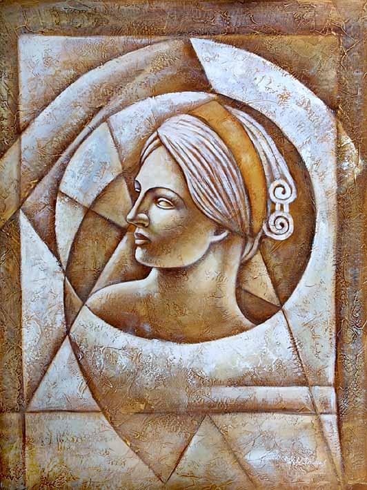 Roman Scuplture Lady of Rome