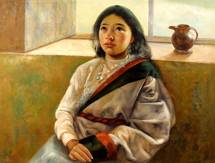Tibetan Girl Child
