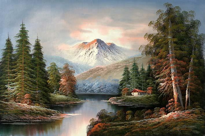 مجموعات لوحات Landscape 12401987664006