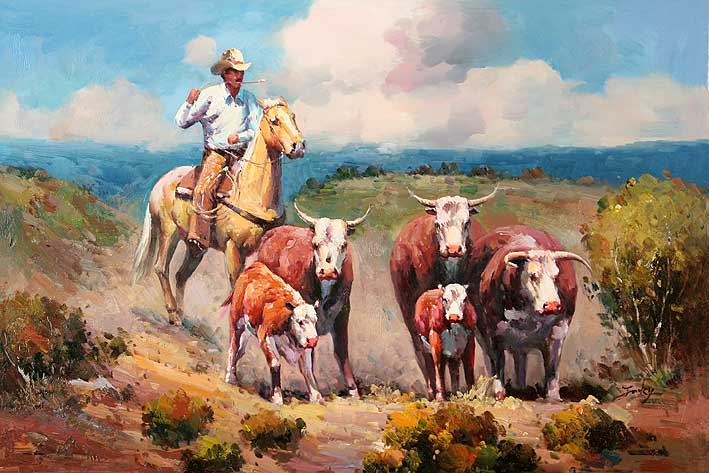 Disobedient Longhorns