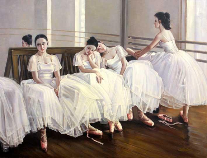 Practising Dancers, II