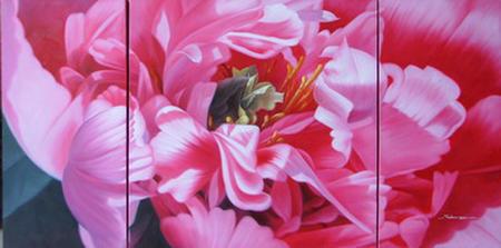 Triptych Flower 16