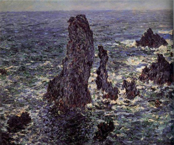 Cliffs at Belle-Ile