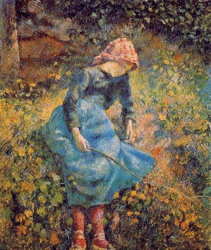 Jeune Fille a La Baguette Ou La Bergere, 1881