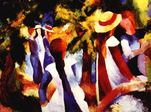 Girls Under Trees (1914)