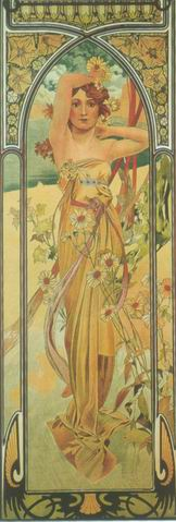 Le Jour, by Alfons Maria Mucha