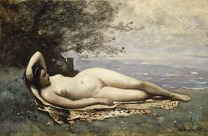 Bacchante By The Sea