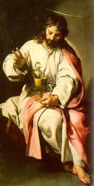 St John The Evangelist With The Poisoned Cup 2 1636
