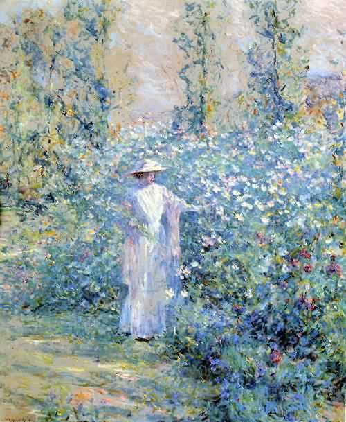 In the Flower Garden 1900
