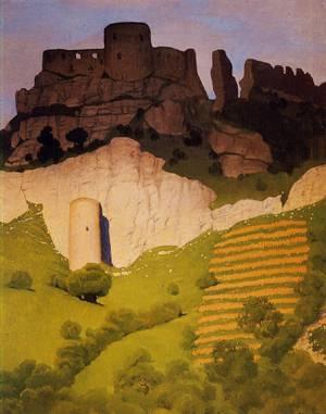 Chateau Gaillard at Andelys 1924