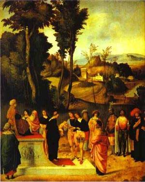 Moses Trial By Fire 1495-1496