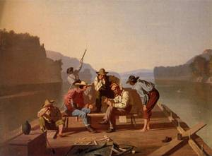 Raftsmen Playing Cards 1847