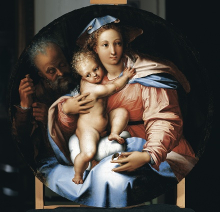 The Holy Family c 1540