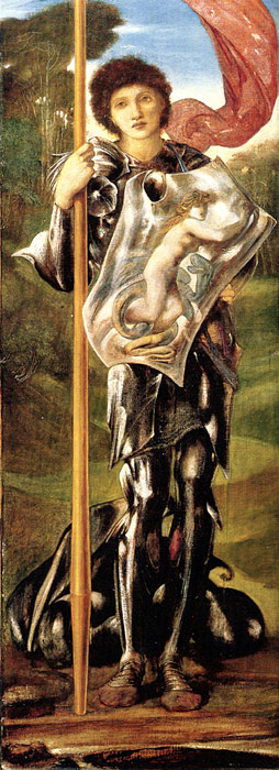 Burne-Jones Oil Painting Reproductions- Saint George