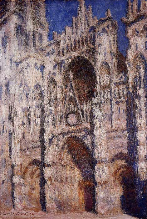 Monet Oil Painting Reproductions - Rouen Cathedral