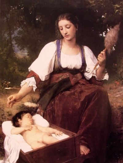 Lullaby - Oil Painting Reproduction